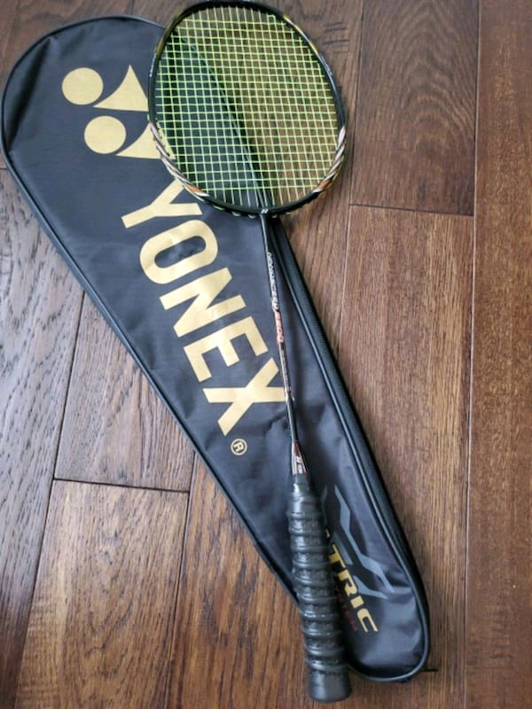 Gently used YONEXnano 9900 badminton  racket.. 0
