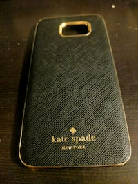 black and brown Kate Spade smartphone case
