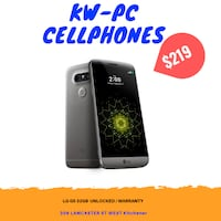 LG G5 UNLOCKED $219 Kitchener