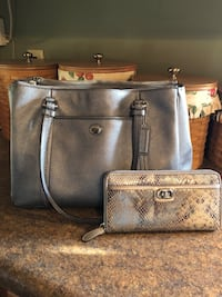 Silver COACH Purse and Wallet  Williamsport, 21795