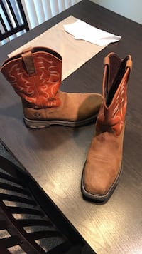 Ariat Steel Toe Work boots Size 10 Austin, 78729
