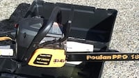 black and yellow Poulan Pro chainsaw VANCOUVER
