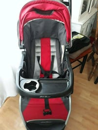 baby's black and red stroller Herndon, 20170