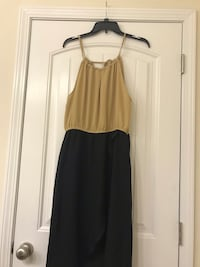 Black and Tan high low dress Conway, 29526