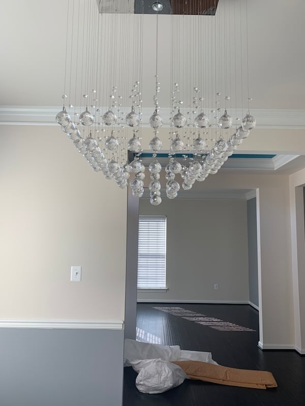 Crystal Chandelier 1