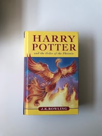Harry Potter and the order of the Phoenix first print 2003 hardcover