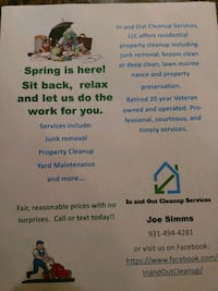 Junk removal/ Cleaning/ Lawn care Clarksville