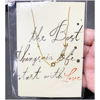 PRICE IS FIRM, PICKUP ONLY - Anthropologie - Love Necklace - Brand New- Toronto, M4B 2T2