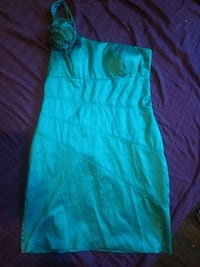 women's teal sleeveless dress Windsor, N9A 6G3