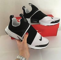 black-and-white Nike shoes- SIZE 8
