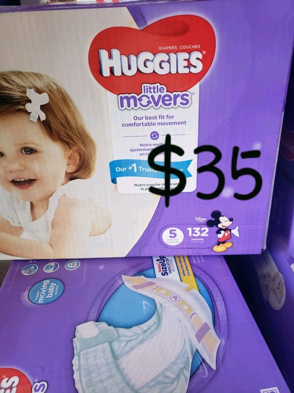 Huggies Pull-Ups training pants box