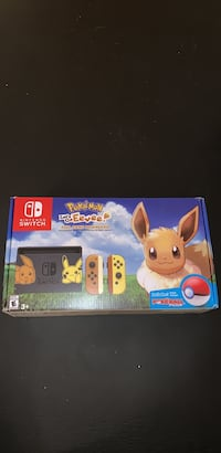 Nintendo Switch Pikachu and Eevee Edition Bundle Sterling, 20165