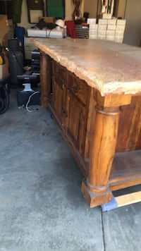 Large Unique stone top table Indianapolis, 46239