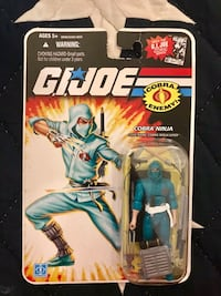 Gi Joe 25th anniversary Cobra ninja figure Paterson, 07505