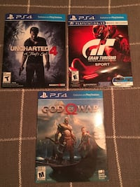 * 3 PS4 games for sale* Schenectady, 12303