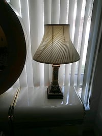 brown and white table lamp Cutler Bay, 33157