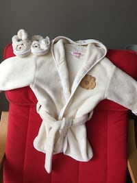 Toddler robe set, extra soft, size 12-18 months Reston, 20191