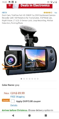 Trekpow T1 Dashcam