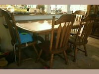 brown wooden dining table set Dawsonville, 30534