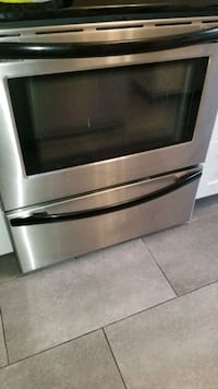 Stainless steel appliances - fridge, stove & dish washer