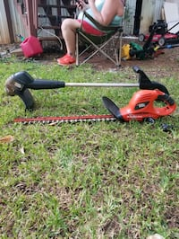 BLACK AND DECKER ELECTRIC WEEDEATER AND 24 HEDGE T Griffin, 30223