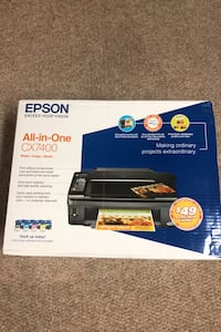 EPSON exceed your vision All-in-one CX7400 print)copy)scan new