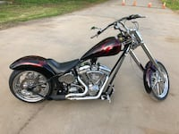 black and red cruiser motorcycle Little Falls, 13365
