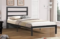 Bed with mattress brand new  Toronto, M1V 4Y5
