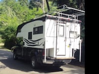 Truck camper with boat lift Nanaimo, V9X 0A2
