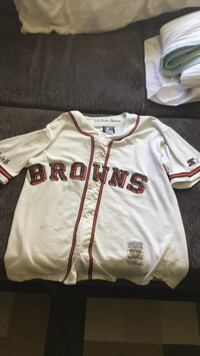 1944 St. Louis browns baseball jersey by starter Whitby, L1N 2P1