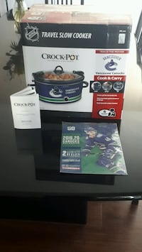 NHL Logoed Game Day Crockpot New with Vancouver Canucks 2019-20 Season Richmond, V7C 1J6
