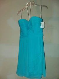 Bridesmaids or homecoming strapless dress size 8 Martinsburg