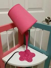 Spilled Paint Lamp