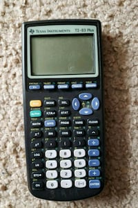 TI83 Grapging Calculater Shelby, 49455