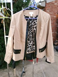 Chico Black & Beige Jacket
