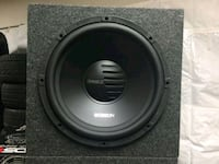 15 inch Orion subwoofer with a crunch amp Upland, 91786