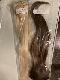 CLIP IN SYNTHETIC HAIR EXTENSIONS