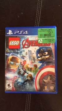 Lego Marvel Super Heroes PS4 game case Coquitlam, V3B 2T3