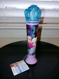 "NEW - Disney's ""Frozen"" Magical MP3 Microphone Fredericksburg, 22407"