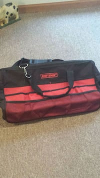 Craftsman  pull along / carry on strap tool bag XL South Bend, 46628