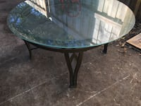 Glass top living room table Tampa, 33612