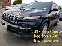 1500 down payment Jeep - Cherokee - 2017 Houston