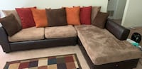 Brown and black sectional sofa Montgomery, 36117