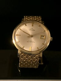 round silver-colored analog watch with link bracelet Tampa, 33607