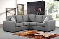 Brand new in box sectional fabric sofa Mississauga