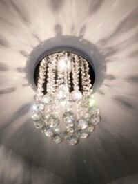 Crystal Chandelier Light Mini Lamp Office Bedroom Decoration Bright Laurel, 20707