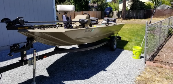 2018 Tracker Grizzly 1648SC