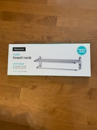 Towel rack. Never used. Still in package