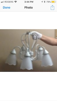 5 light white fixture Hamilton, L8K 4Z8