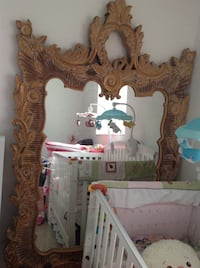 Beautiful Antique Mirror with Gold Painted Frame  Miami, 33179